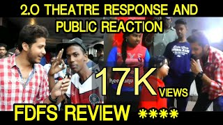 2.0 FDFS Theatre response | Public opinion | Movie Review | 2.O fans reaction