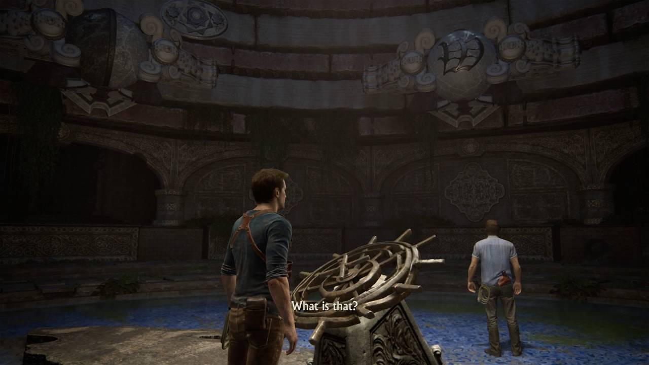 Uncharted 4: A Thief's End - Chap 12 At Sea: Light Symbols ...