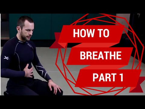 How to Breathe Properly, Part 1: diaphragmatic breathing