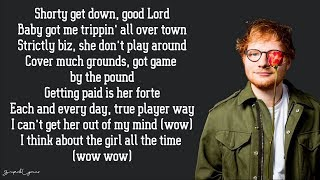 Ed Sheeran - No Diggity (Lyrics) - Stafaband
