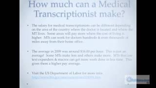 Medical Transcription Career Career Step Webinar