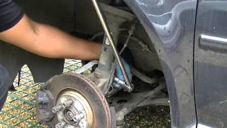 VW Front Shock Absorber Removal