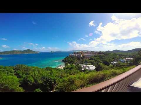 St  Thomas: Secret Harbor in 4K