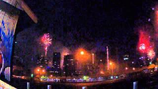 Melbourne 2013 Fireworks Wide Angle Lens