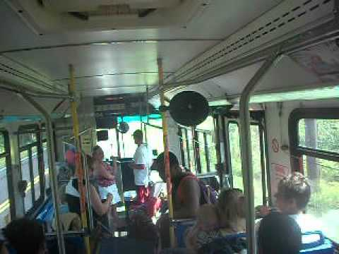 CDTA iride Exclusive: On board Route 96 (Grafton State Park Shuttle) on NABI 35-LFW #9964 NO A/C