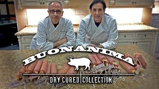 """buonanima"" - Making Soppressata Calabrese With Sal And Frank 