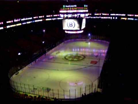 TD Banknorth Gardens pre-game music