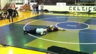 Peter vdL Wrestling Match
