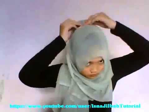 Hijab Paris Segitiga Terbaru Bulan Puasa By Fatin Shidqia