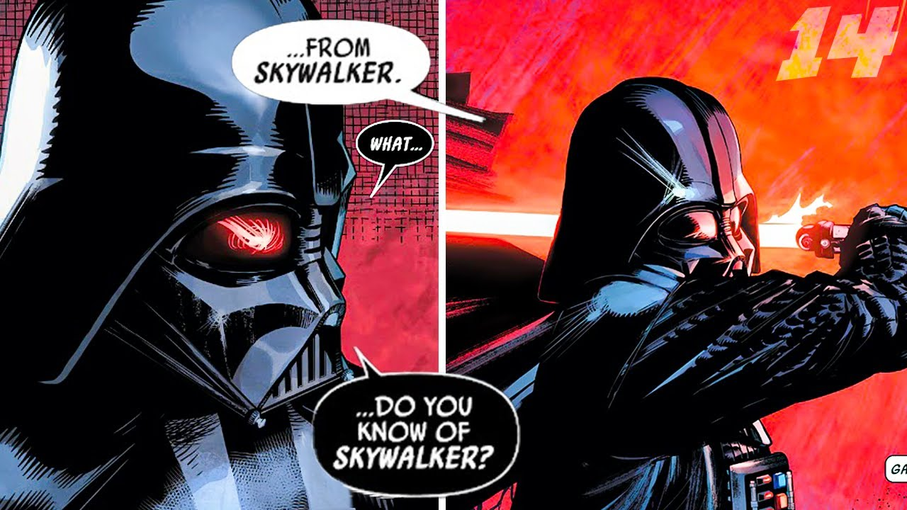 Download I don't really know where this Vader comic is going anymore