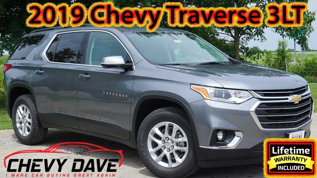 first look at the 2019 chevrolet traverse lt leather package review