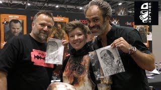Meeting Ned Luke & Steven Ogg (MCM May 2018)