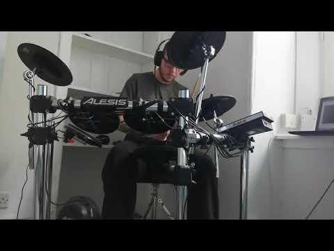 Space Dandy Outro X Jigen E Youkoso - Etsuko Yakushimaru Semi Drum Cover (Alesis Forge)