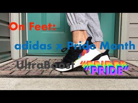 3740d5d6fb7 On Feet - adidas x Pride Month UltraBoost