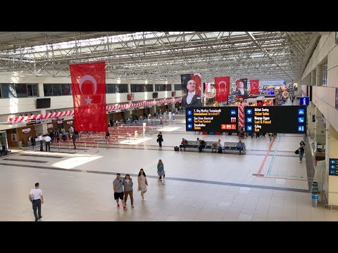 Walk at Antalya Airport 2019