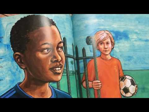 and apartheid in South Africa A story of friendship The Soccer Fence hope