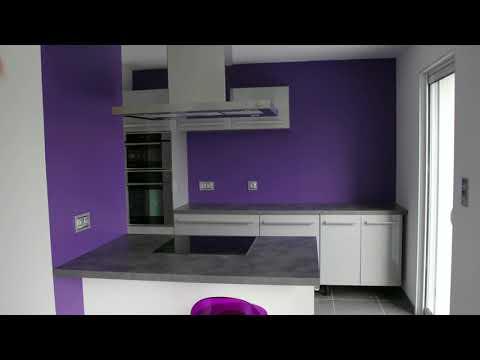 Meuble Cuisine Four Et Micro Onde Youtube