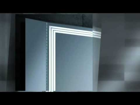 badspiegel led leiste youtube. Black Bedroom Furniture Sets. Home Design Ideas