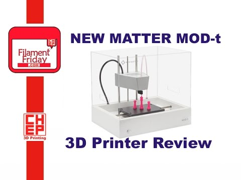 New Matter Mod T 3d Printer >> New Matter Mod T 3d Printer Unboxing And Review With Complete How To