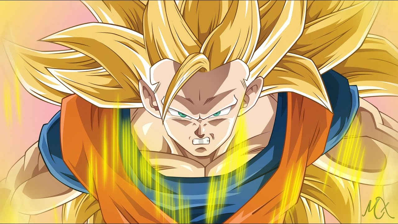 Super saiyan 3 goku vs super saiyan 3 gotenks dbz fights youtube - Super sayen 10 ...