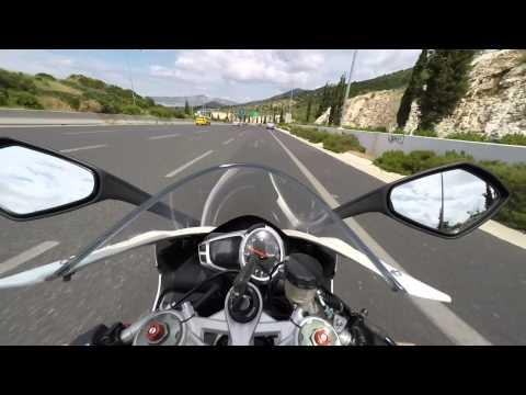 Triumph Daytona  - Arrow exhaust, Quick Shifter, + mph