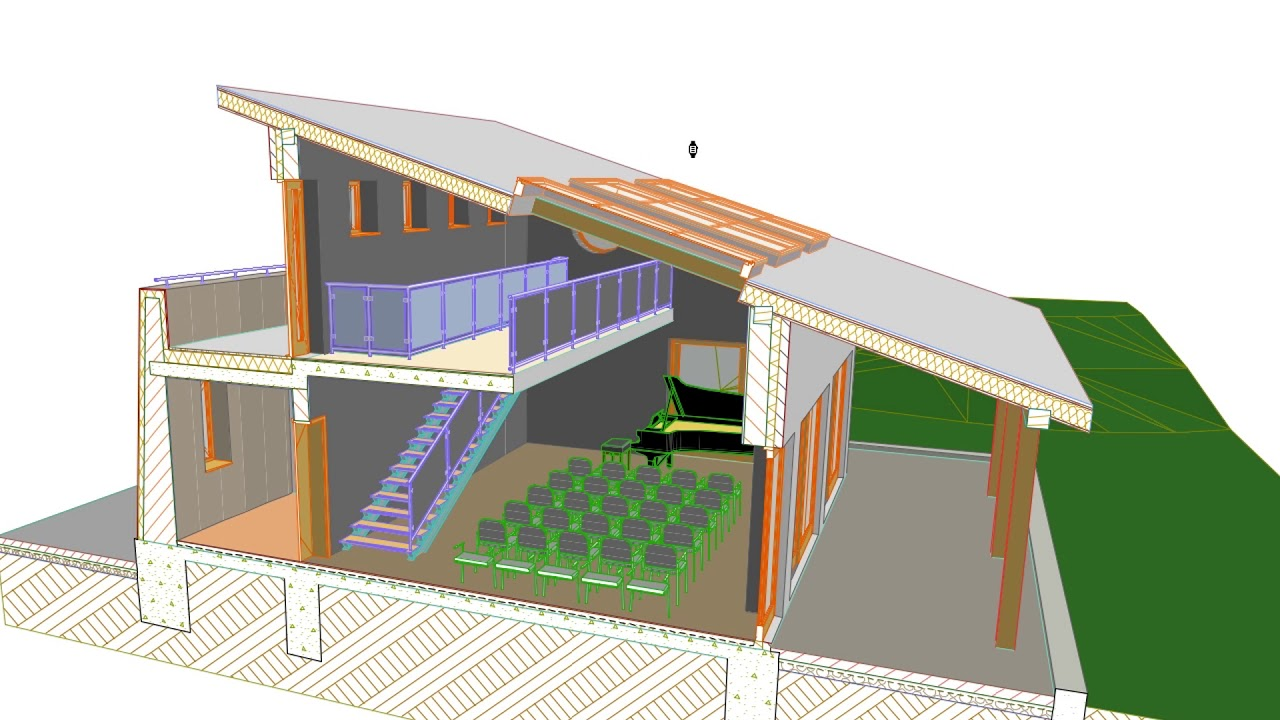 3D Document From 3D Window - ARCHICAD Training Series 3 - 70/84