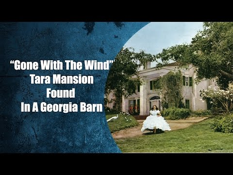 "The ""Gone with the Wind"" Tara House found in a Georgia Barn"