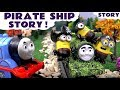 Thomas and Friends Minions Pirate Ship funny Game toy story kids fun family toys video Tom Moss