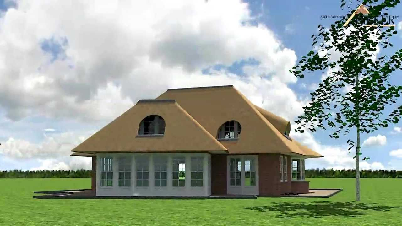 Vrijstaand huis giessenburg architect bikker bv youtube - Huis architect ...