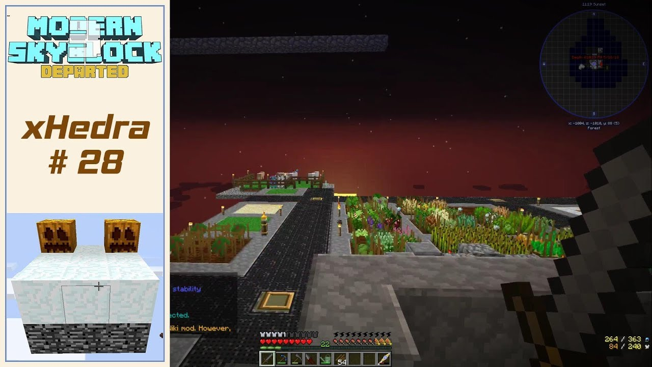 Modern Skyblock 3 Departed E28 - Starting A Master Chef - 10 Quests