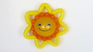 "Солнце маленькое из шаров / small Sun balloon / 2x160 + 5"""