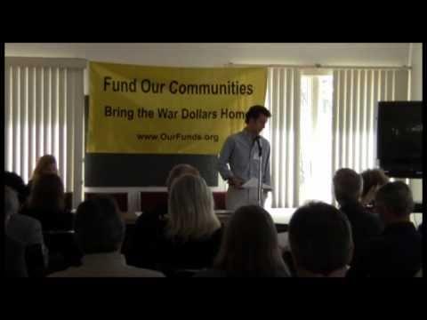 Jeff McManus (CCAN) addresses Fund Our Communities...