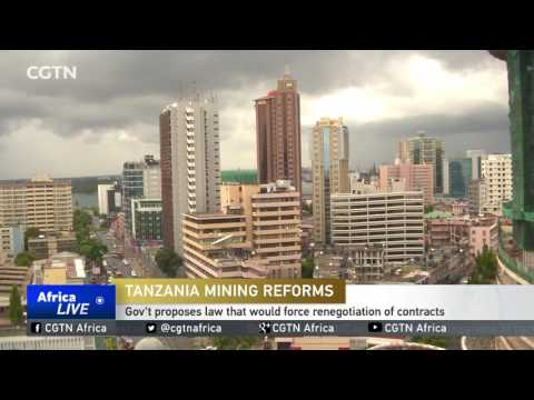 Tanzania Mining Reforms: Government proposes law that would force renegotiation of contracts