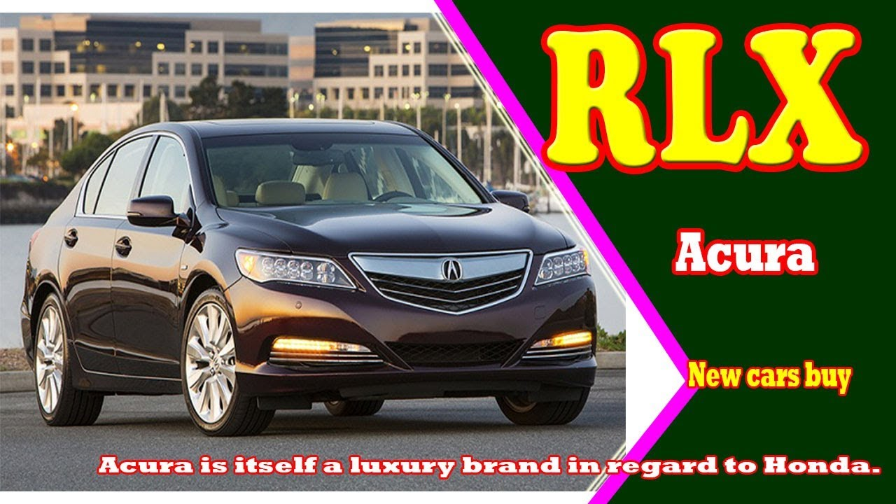 2019 Acura Rlx Sport Hybrid New Cars