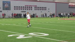 J.T. Barrett every throw from OSU's Pro Day