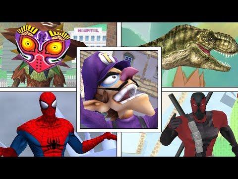 Super Smash Bros Meme Modpack: All Character's Final Smashes (Smash Mods)