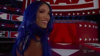 Sasha Banks attacks Natalya and Becky Linch best moments 2019