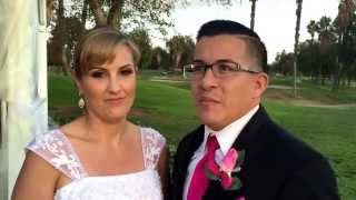 Another Amazing Wedding Ceremony Testimonial. At Upland Hills Country Club.