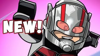 NEW! LEGO Marvel Superheroes 2! Ant-Man & The Wasp New 100% Level!