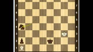 Уроки шахмат - Конь и пешка против слона