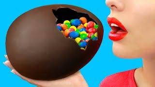 Большое шоколадное яйцо / Пасхальный декор – 8 лучших идей