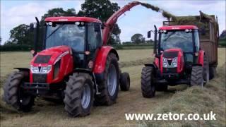 Zetor UK, Forage harvesting with Forterra 135