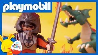 Playmobil - le Chevalier et le dragon - Jouet pour enfants - Touni Toys