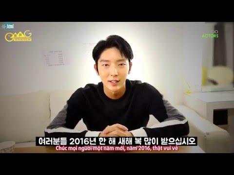 [Vietsub by GMG] Lee Joon Gi chúc mừng...