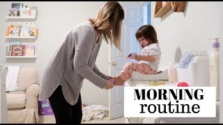 MORNING ROUTINE ☀️☕️ | PREGNANT MOM WITH TODDLER