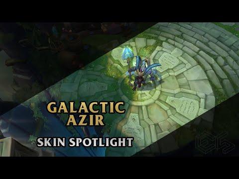 ► Galactic Azir ◀ League of Legends ▂ Skin Spotlight