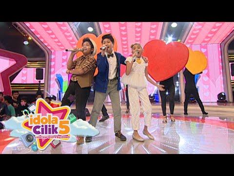 3 Finalis Idola Cilik 5 Fikih, Naura, Sion 'Ingatlah Hari Ini' [Idola Cilik 5] [26 Mar 2016]