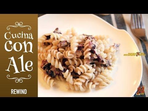 FUSILLI alla QUINOA con Radicchio e Stracchino. Ricetta VELOCISSIMA - Quinoa Fusilli with Radicchio