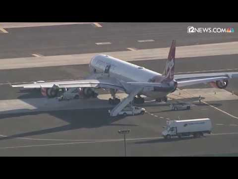 Arizona Cardinals take off from Sky Harbor for their London game