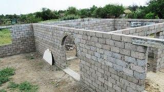 Видео о строительстве дома своими руками (Выпуск 5)(Видео подготовлено для http://You-Family.com/ - метка